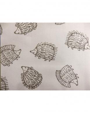 ハリネズミGY 綿カーテン 100×135cm 2枚組見る