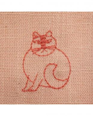 スケッチRE 刺繍麻混カーテン 100×178cm 2枚組を見る