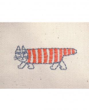 マイキーRE 刺繍綿カーテン 100×200cm 2枚組見る