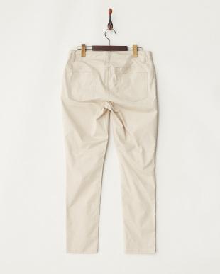 DARK BONE WHITE Five Pocket PANTS見る