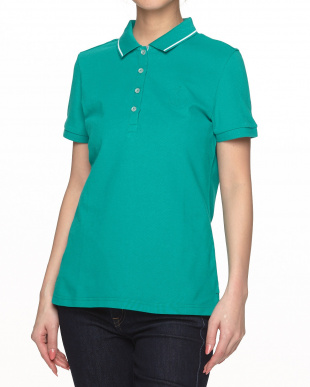 PACIFCTEAL アンカーマーク Polo S/S KNITS見る