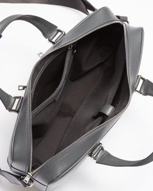 グレー フロント2ポケットビジネスバッグを見る