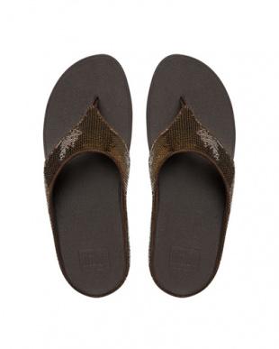 Bronze Ringer Sequin Toe-Postを見る