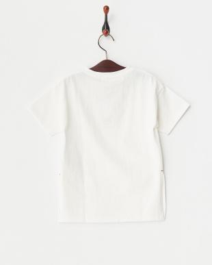 オフホワイト サイドスリットBIGシルエットTシャツを見る