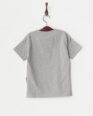 グレー サイドスリットBIGシルエットTシャツを見る