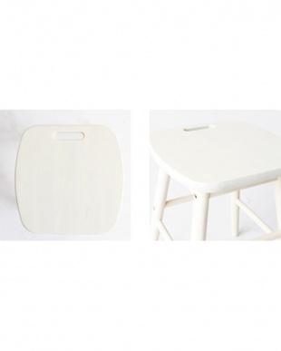 ホワイト Low stoolを見る