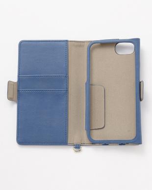 ブルー iPhone8/7/6s/6用 ドローイングハート2手帳型ケースを見る
