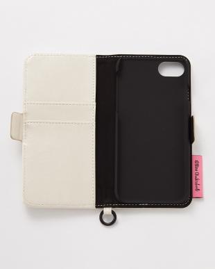 アイボリー iPhone8/7/6s/6用 ニナ・チャクラバーティ 手帳型ケースを見る