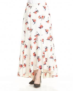NAVY ロングテールスカートを見る