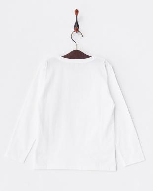 010 ホワイト クリスマスイラスト 長袖Tシャツ ENFANTを見る