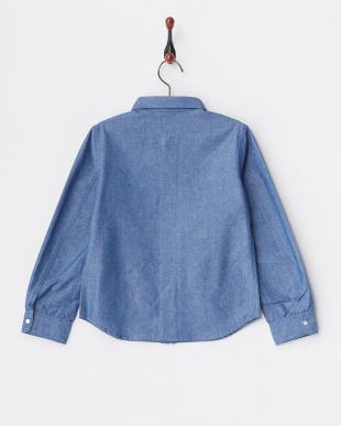 6094 ブルー ウエスタンシャツ ENFANTを見る