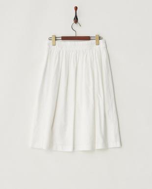 オフホワイト エアリーフレックススカートを見る
