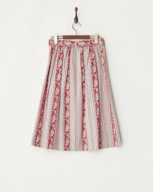 レッド LESOLIVADES BANDESBONIS スカートを見る