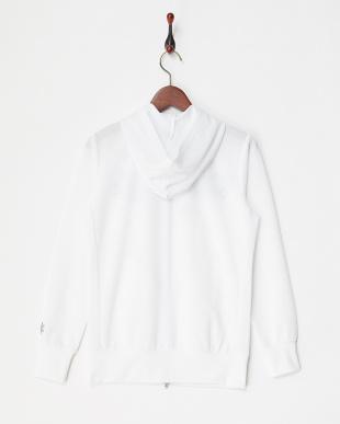 WT レディス フラワー刺繍パーカブルゾン UVカット・吸汗速乾を見る