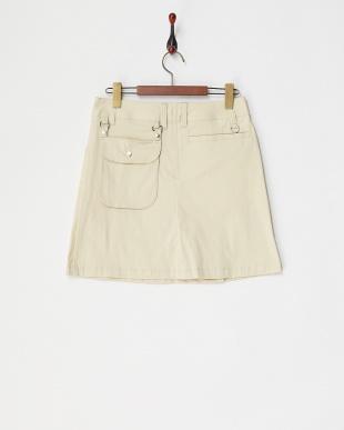 BE レディス 後ポケット付ストレッチスカート UVカットを見る