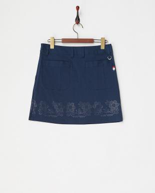 NV レディス フラワーラバーptストレッチスカート UVカットを見る