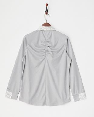 GY レディス フラワーレース長袖シャツ UVカット・吸汗速乾を見る