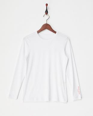 WT レディス ハーフジップ半袖シャツ+インナー UVカット・吸汗速乾を見る