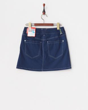 NV レディス 綿混ストレッチスカート(ショートパンツ型裏地) UVカット・吸汗速乾を見る
