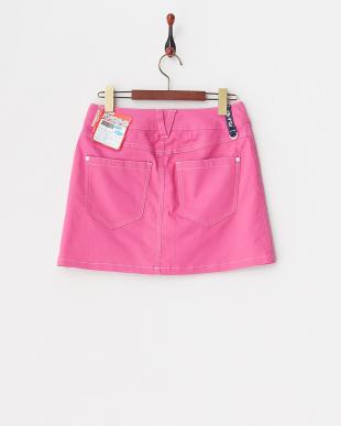 PK レディス 綿混ストレッチスカート(ショートパンツ型裏地) UVカット・吸汗速乾を見る