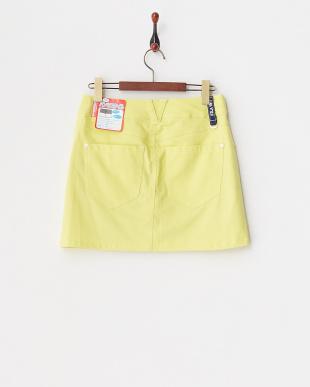 YL レディス 綿混ストレッチスカート(ショートパンツ型裏地) UVカット・吸汗速乾を見る