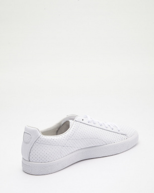 PUMA WHITE-PUMA WHITE CLYDE PERFORATED TRAPSTAR見る