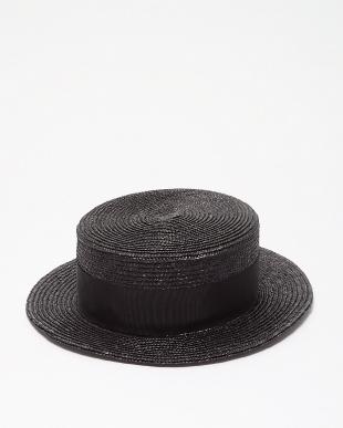 ブラック カンカン帽を見る