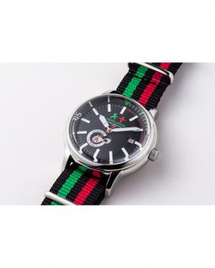 ブラック AMTラウンド腕時計|MEN見る