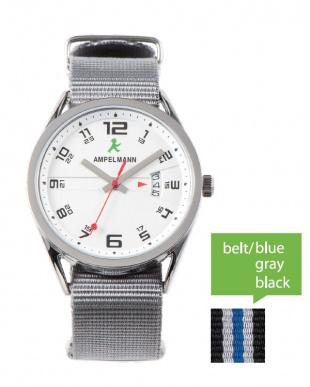 シルバー ASC ラウンド腕時計|UNISEX見る
