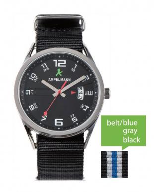 ブラック ASC ラウンド腕時計|UNISEX見る