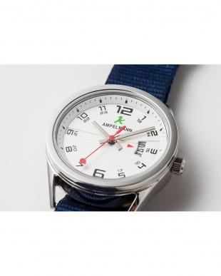 シルバー ASC ラウンド腕時計(小)|UNISEX見る