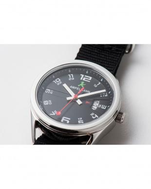 ブラック ASC ラウンド腕時計(小)|UNISEX見る