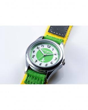 グリーン×イエロー AMA 3針モデル腕時計|KIDSを見る