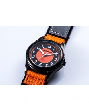 ブラック×オレンジ AMA 3針モデル腕時計|KIDSを見る