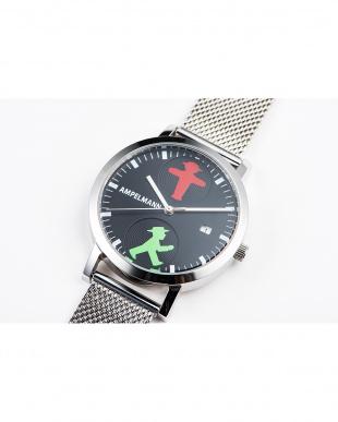 ブラック AFC 信号機 メッシュベルト腕時計|UNISEX見る