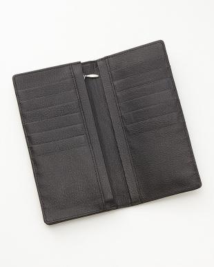 ブラック アリゲーター長札財布を見る