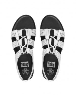 Urban White GLADDIE LACE-UP LEATHER SANDAL(PERF)を見る