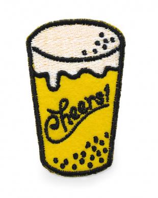 ビール&ソーセージ ワッペンブローチ2Pセット見る