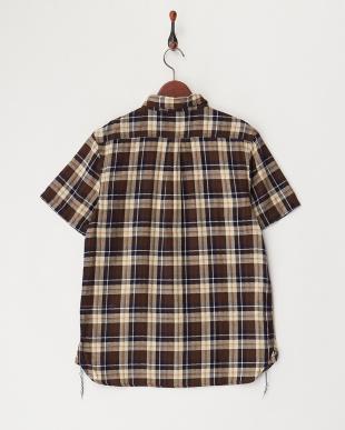 NAVY チェックワークシャツを見る
