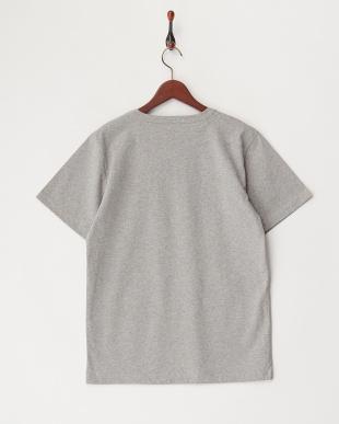 GREY USMCプリント刺繍Tシャツ見る