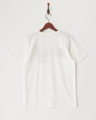 WHITE USMCプリント刺繍Tシャツを見る