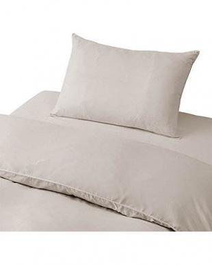 シルバーグレー やわらか素材の布団カバー シングル ベッド用 3点セットを見る