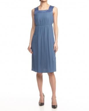 NAVY BLUE PATTERN DRESS PADDAを見る