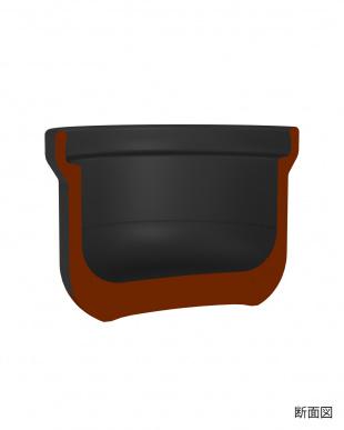 ブラック 米1合用 フタがガラスのご飯釜を見る