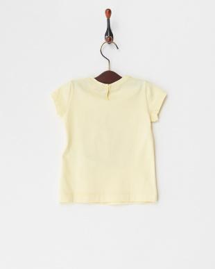 イエロー フロントプリントTシャツ(12M~)を見る