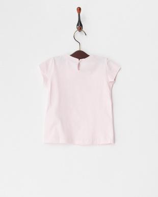 ピンク ストーンロゴ&ローズTシャツ(12M~)を見る