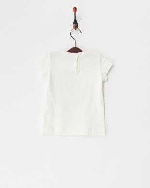 シロ クリームガールプリントTシャツ(12M~)を見る