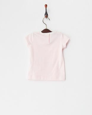ピンク クリームガールプリントTシャツ(12M~)を見る