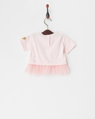 ピンク スパンコールアイス&チュールプルオーバー(12M~)を見る