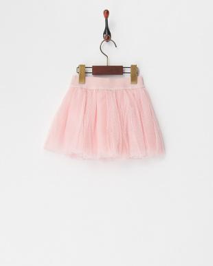 ピンク スパンコールアイスチュールスカート(12M~)を見る
